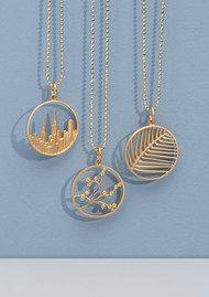 PERNILLE CORYDON Maze Necklace - Silver
