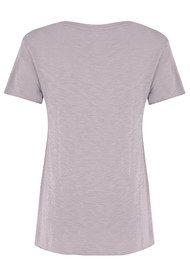 American Vintage Jacksonville Short Sleeve T-shirt - Mauve