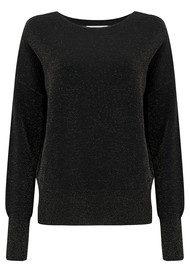 Essentiel Origami Oversized Sweater - Black