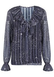 Lily and Lionel Exclusive Joni Top - Luna Navy