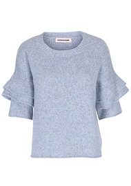 CUSTOMMADE Cheila Pullover - Dusty Blue