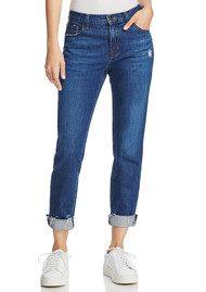 Johnny Mid Rise Boyfriend Jeans - Doubletake
