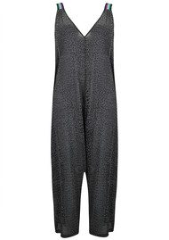 PITUSA Cheetah Jumpsuit - Black