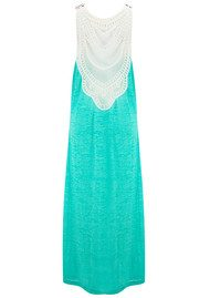PITUSA Crochet Maxi Dress - Mint