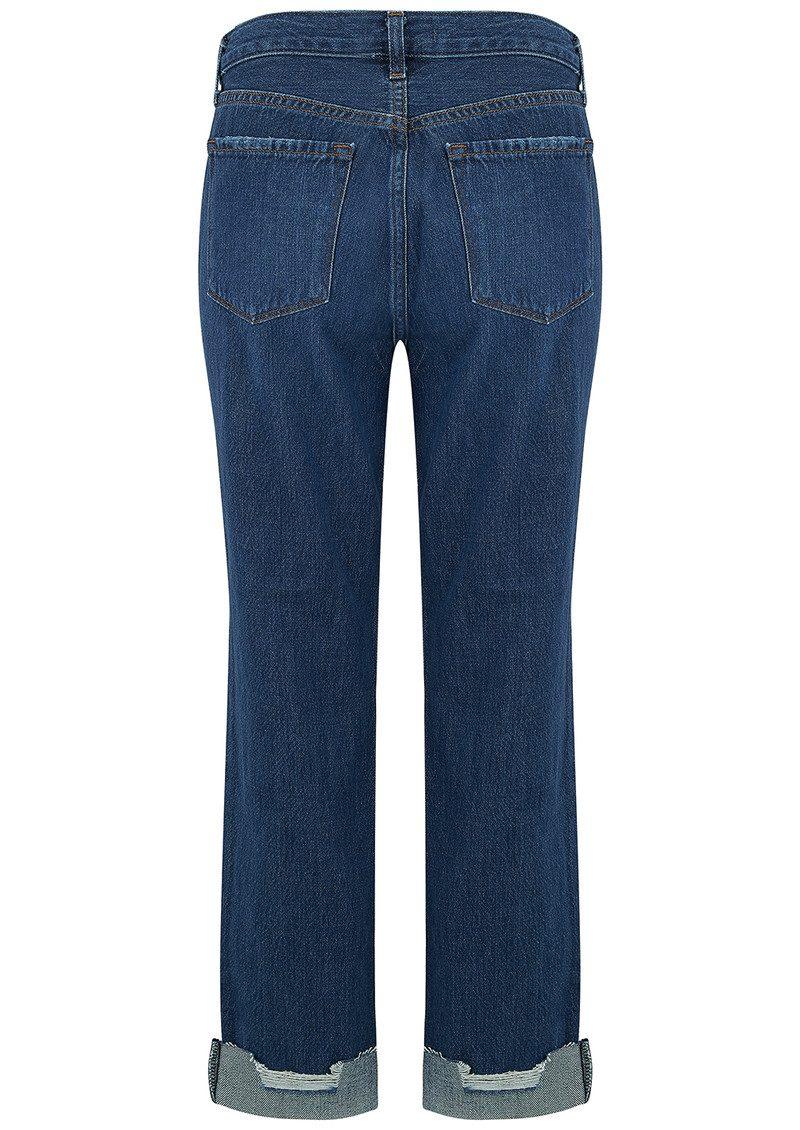 J Brand Johnny Mid Rise Boyfriend Jeans - Doubletake main image