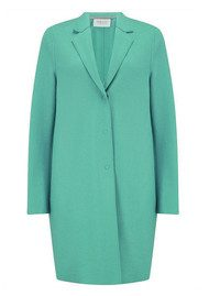 HARRIS WHARF Boxy Coat - Mint
