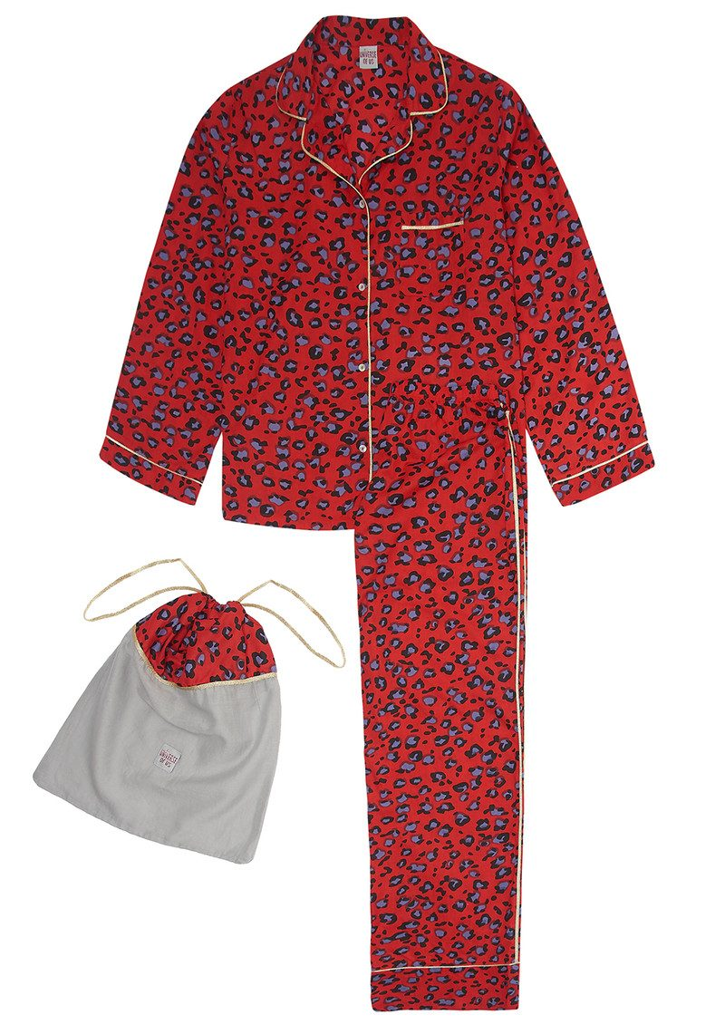 UNIVERSE OF US Leo Love Pyjama Set - Red main image
