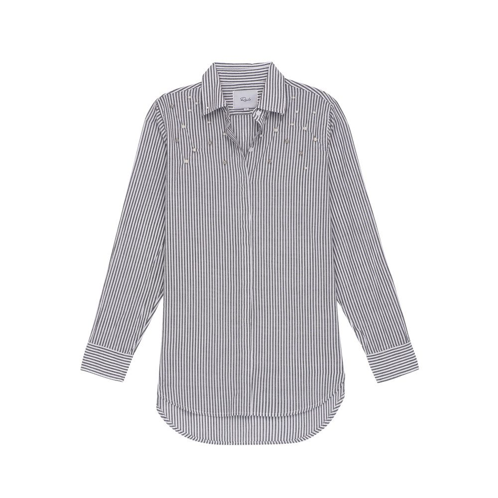 Taylor Striped Pearl Shirt - Florence