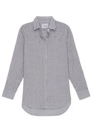Rails Taylor Striped Pearl Shirt - Florence