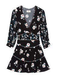 Ba&sh Belize Floral Dress - Black