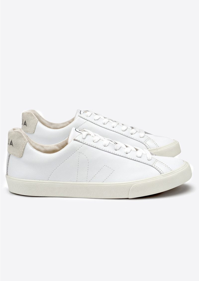 VEJA Espar Leather Trainers - Extra White main image