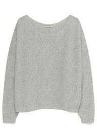 American Vintage Damsville Jumper - Heather Grey