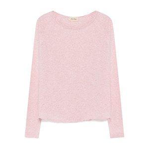 Sonoma Long Sleeve Tee - Light Pink Melange