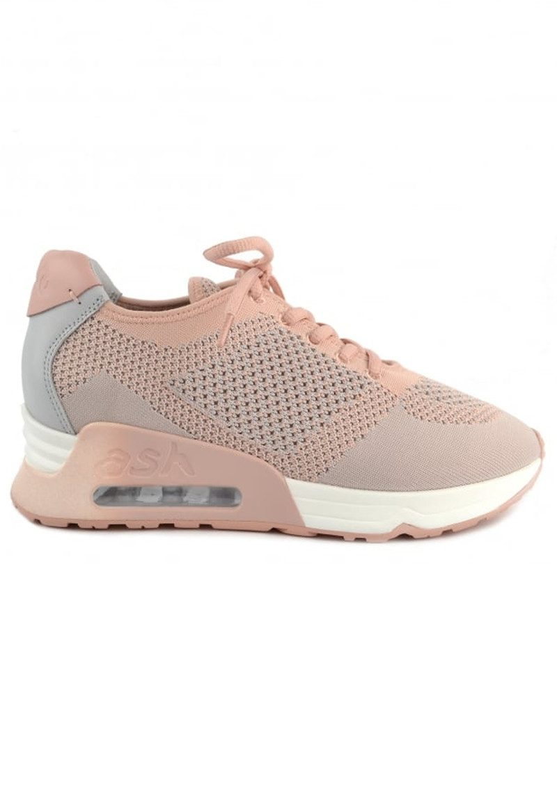 Ash Lucky Knit Trainers - Nude Pearl main image