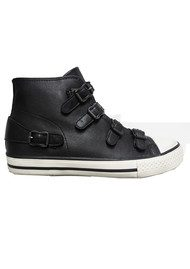 Ash Venus Buckle Trainer - Black