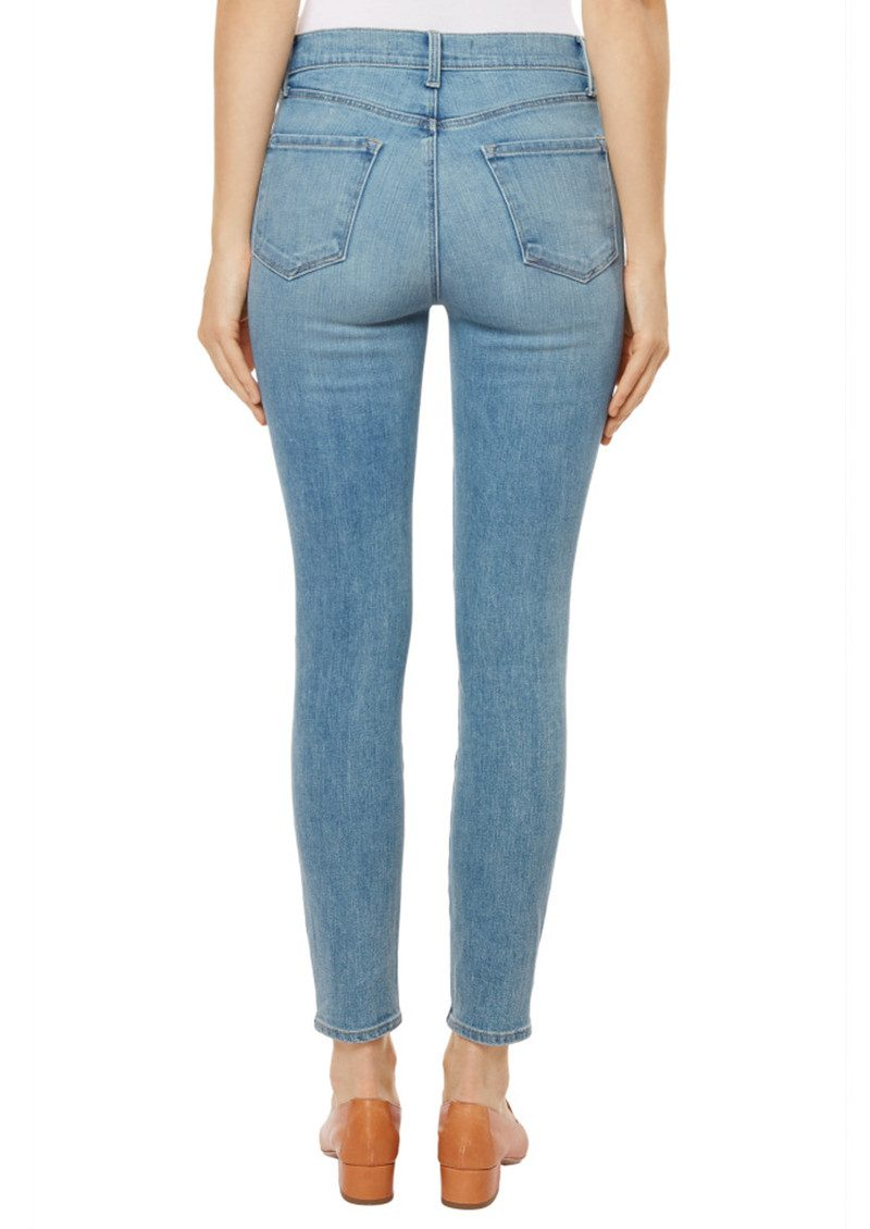 Alana High Rise Crop Skinny Jeans - Surge main image