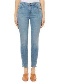 J Brand Alana High Rise Crop Skinny Jeans - Surge