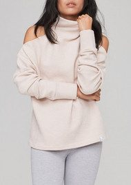 VARLEY Hampton Ribbed Sweatshirt - Rose