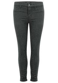 J Brand Anja Clean Cuffed Crop Jeans - Zinc