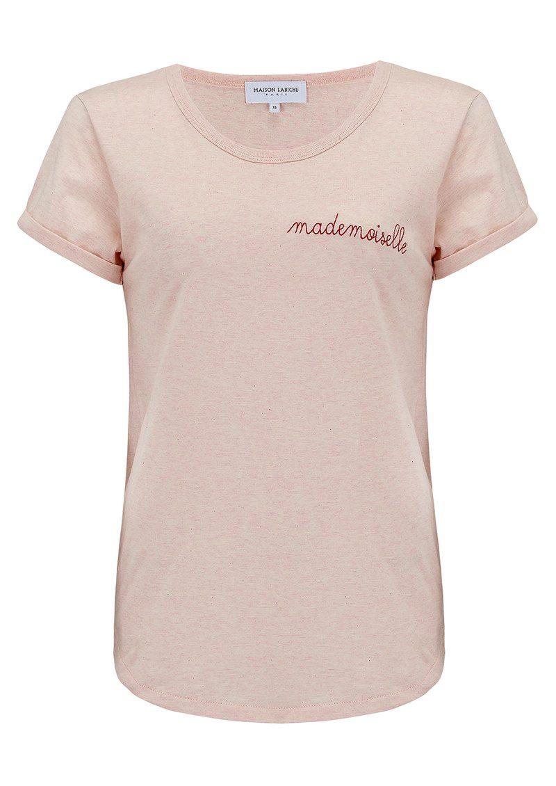 MAISON LABICHE Mademoiselle Tee - Pink main image