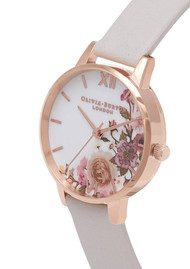 Olivia Burton Enchanted Garden Midi Watch - Blush & Rose Gold