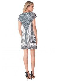 Hale Bob Callione Beaded Jersey Dress - Grey