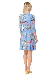 Hale Bob Janelle Wrap Jersey Dress - Blue