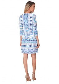 Hale Bob Marah Beaded Dress - Blue