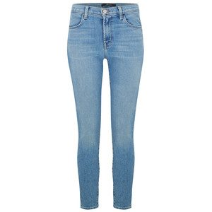 Alana High Rise Crop Skinny Jeans - Surge