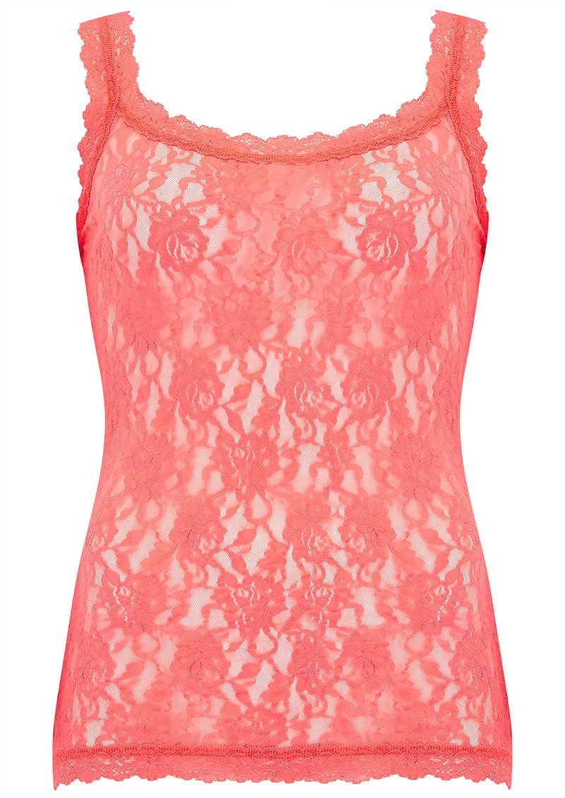 Hanky Panky UNLINED LACE CAMI - Peachy Keen main image