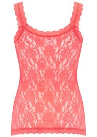 Hanky Panky UNLINED LACE CAMI - Peachy Keen