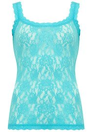 Hanky Panky UNLINED LACE CAMI - Sea Foam