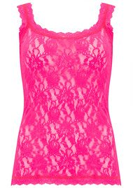 Hanky Panky UNLINED LACE CAMI - Passionate Pink