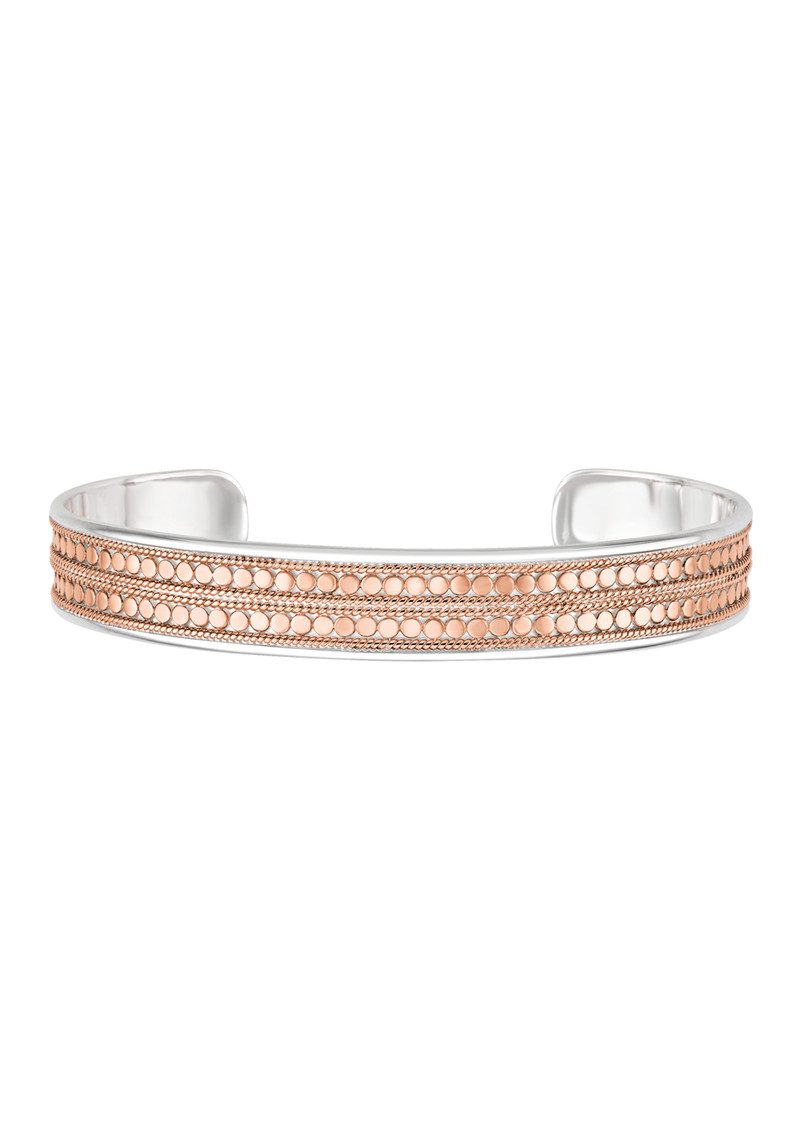 ANNA BECK Beaded Cuff - Rose Gold main image