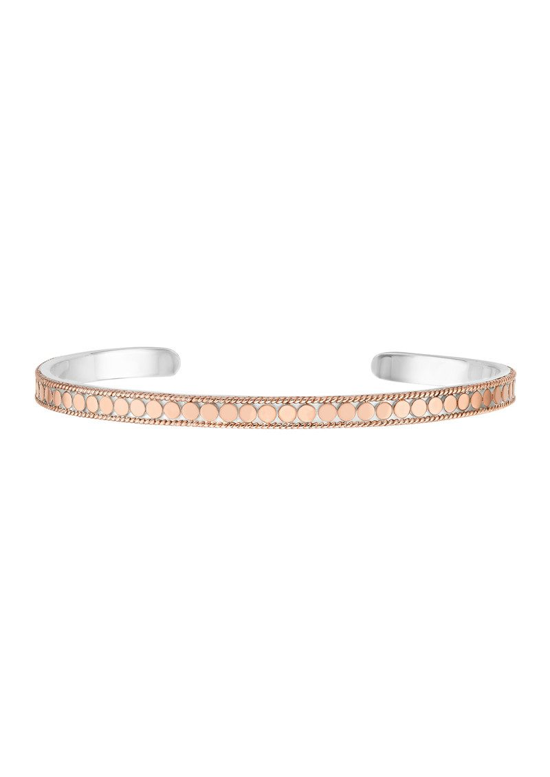 ANNA BECK Skinny Bangle - Rose Gold main image