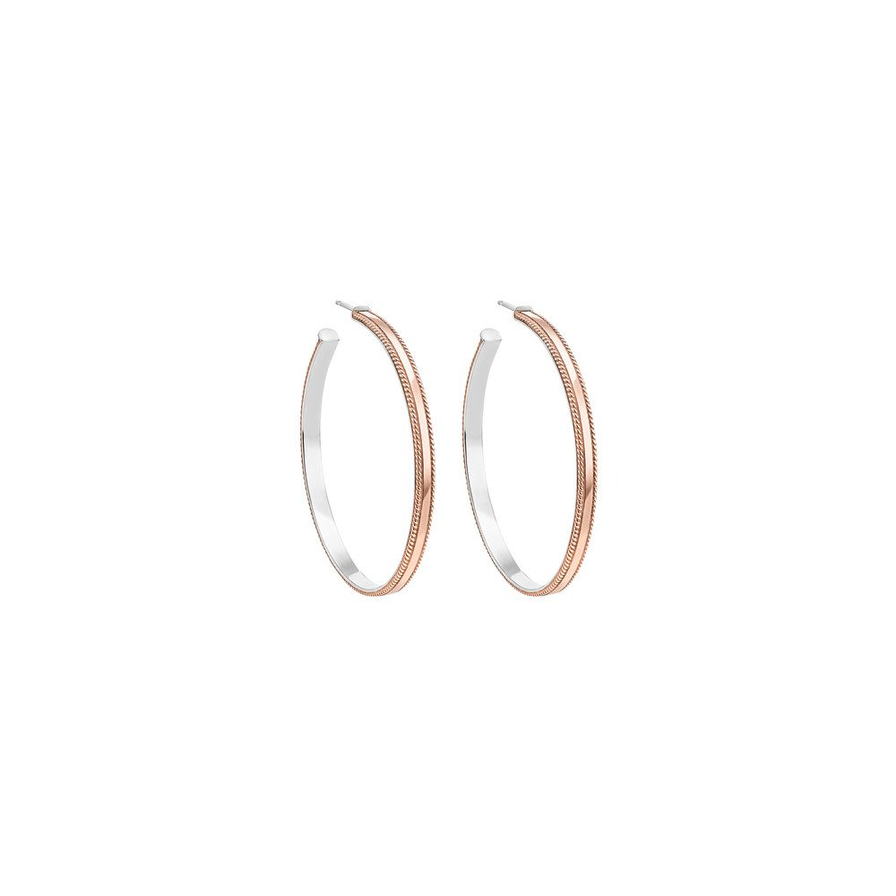Large Hoops - Rose Gold