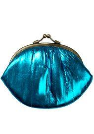 Becksondergaard Granny Rainbow Metallic Purse - Blue Aster