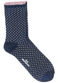 Becksondergaard Dina Small Dots Socks - Medieval Blue