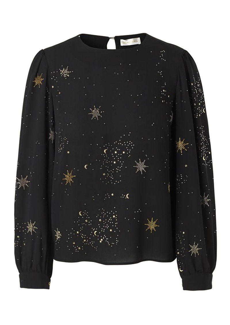 4c8f71e82532 STINE GOYA Gemini Embellished Top - Stars