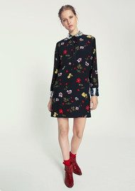 CUSTOMMADE Hermione Sequin Dress - Anthracite Black