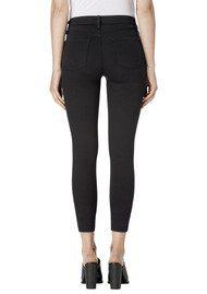 J Brand Alana High Rise Cropped Super Skinny Jeans - Seriously Black