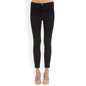 Alana High Rise Cropped Super Skinny Jeans - Bluebird