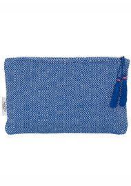 ASHIANA Small Pouch - Blue Pattern