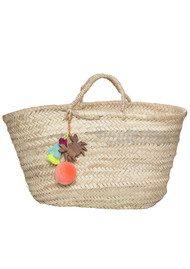 ASHIANA Straw Basket - Multi Crab