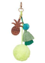 ASHIANA Straw Basket - Yellow Pineapple