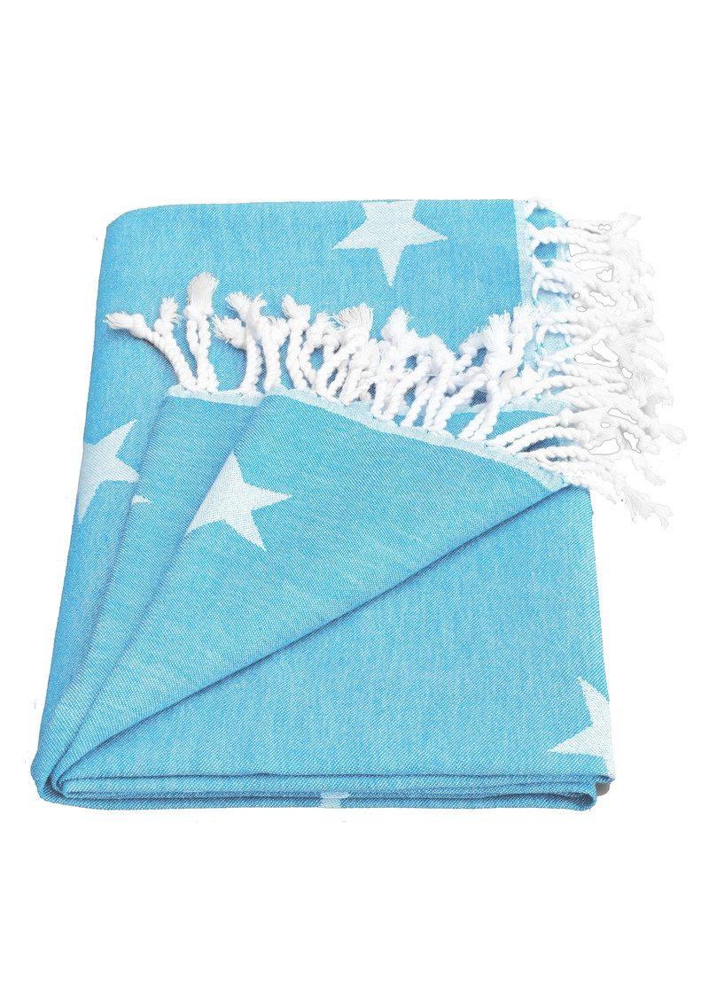 HAMMAMHAVLU Yildiz Star Towel - Fresh Blue main image