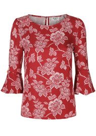 Day Birger et Mikkelsen  Day Mellow Top - Rosso