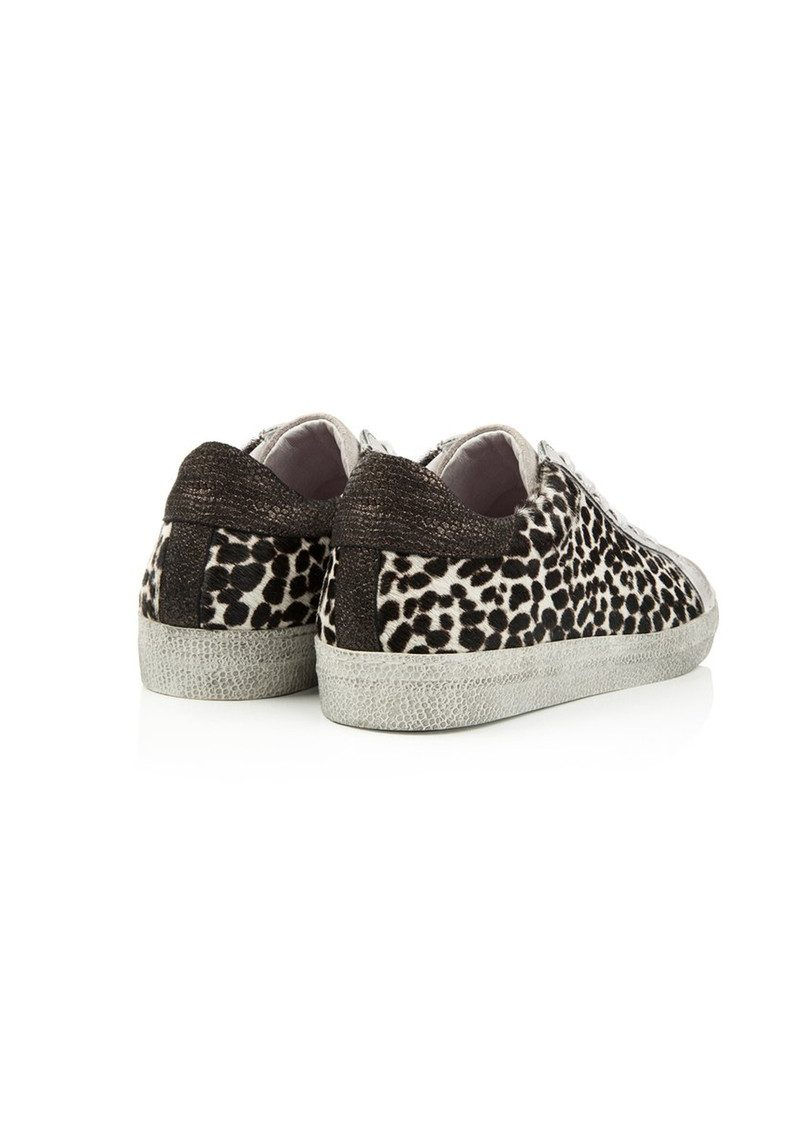 AIR & GRACE Cru Trainer - Monochrome Dotty Print main image