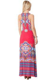 Hale Bob Ravin Maxi Dress - Berry