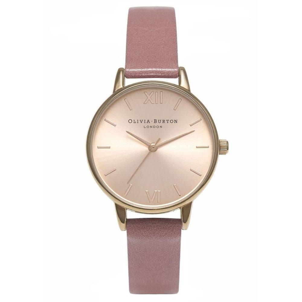 Midi Dial Watch - Rose & Rose Gold